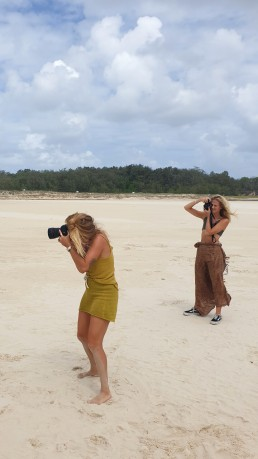 Beach bliss photoshoot bts byzilla
