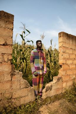 Rwanda photoshoot cornfields