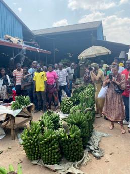 Kigali market photoshoot