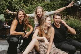Teamwork behind the scenes portfolio boost