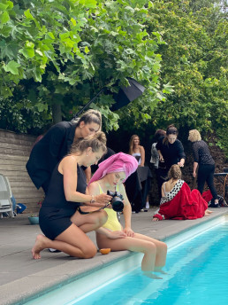Behind the scenes Portfolio boost pool shoot