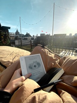 Roofterrace reading