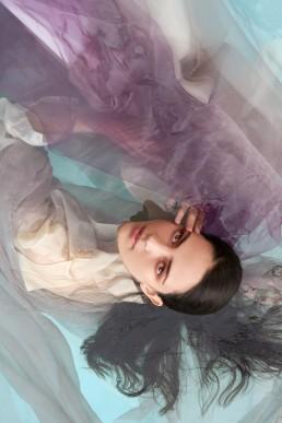 Pool beauty shoot by Zilla - Amy VDM Model management